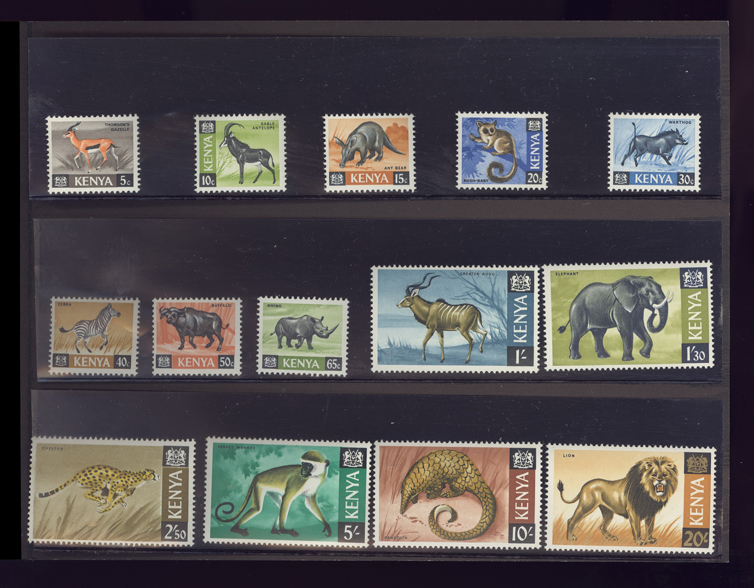 Africa Topical Stamps Africa 50 Different African Animals Stamps